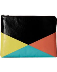 Marc By Marc Jacobs Coated Neoprene 13 Zip Cutout Case - Lyst