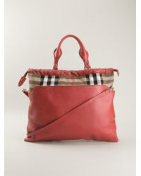 Burberry The Big Crush Tote - Lyst