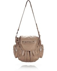 Alexander Wang | Mini Marti In Washed Latte With Rose Gold | Lyst