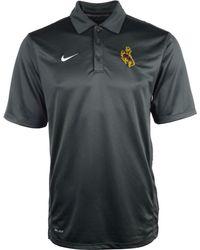 Nike Mens Short Sleeve Wyoming Cowboys Reckoning Polo - Lyst