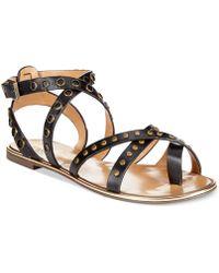 Report Signature Cash2 Studded Flat Gladiator Sandals black - Lyst