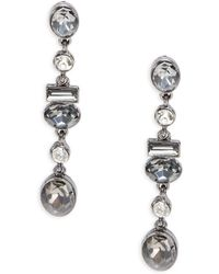Catherine Stein - Faceted Drop Earrings - Lyst