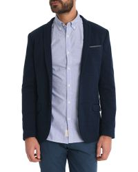 Selected Navy Taylor Casual Jacket - Lyst