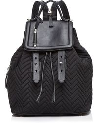 Mackage Tanner Nylon Quilted Backpack - Black