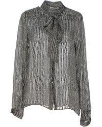 Celine Black Shirt - Lyst