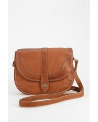 Frye Campus Leather Saddle Bag - Lyst