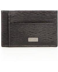 Ferragamo | Embossed Leather Card Case | Lyst