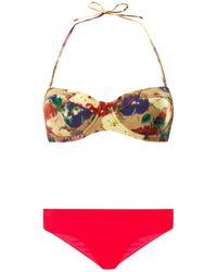 Zimmermann Haze Underwired Bikini - Lyst