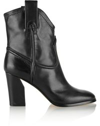 Casadei Leather Ankle Boots - Lyst