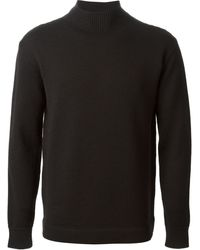 Gucci Ribbed Neck Sweater - Lyst
