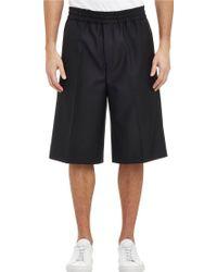Acne Studios Ryder Bermuda Shorts - Lyst