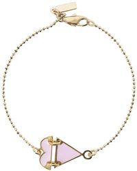MFP MariaFrancescaPepe - 23kt Gold-plated Eye Necklace - Lyst