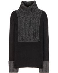 Tory Burch Gretchen Knit Sweater - Lyst