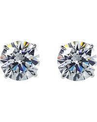 Carat* - Round 1.5ct Solitaire Stud Earrings - Lyst