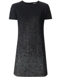 DSquared2 Black Short Dress - Lyst