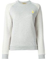 Peter Jensen Rabbit-Appliqué Cotton Sweatshirt - Lyst