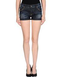 Wesc Denim Shorts - Lyst