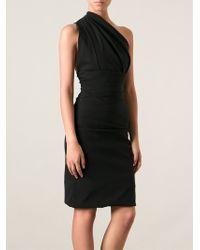 Preen Plaza Asymmetrical Dress - Lyst