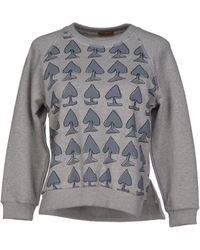 Peter Jensen Sweatshirt gray - Lyst