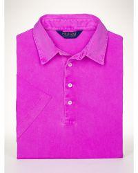 Polo Ralph Lauren Classic-Fit Lisle Polo Shirt - Lyst