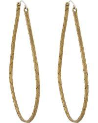 K/ller Collection - Cobra Chain Hoop Earrings - Lyst