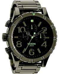 Nixon 48-20 Chronograph Watch - Lyst