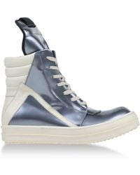 Rick Owens High-Tops & Trainers - Lyst