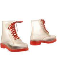 Colors Of California Ankle Boots transparent - Lyst