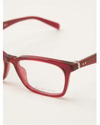 Celine Square Glasses - Lyst