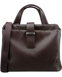 Mh Way Work Bags - Brown