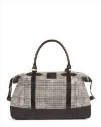 Jaeger Heritage Check Holdall - Gray
