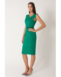 Black Halo Jackie O Dress green - Lyst