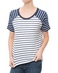 Hye Park And Lune Phyllis Short Sleeve blue - Lyst