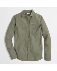 J.Crew Factory Utility Shirt - Lyst