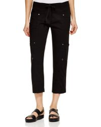 Eileen Fisher | Crop Cargo Pants | Lyst