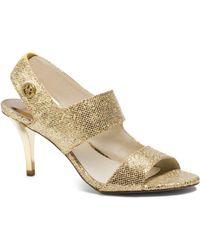Michael Kors Rochelle Glitter Sandal - Lyst