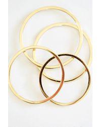 Kristen Elspeth 14k Gold Thread Ring - Metallic