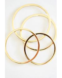 Kristen Elspeth   Gold Thread Ring   Lyst