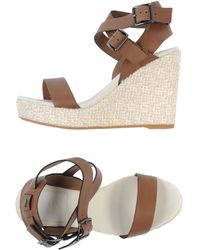 lacoste wedges