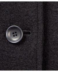 Oska - Black Hooded Cocoon Wool Duffle Coat - Lyst