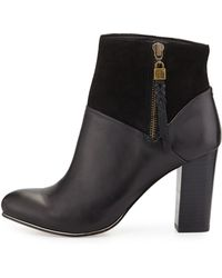 Elliott Lucca - Dafne Leather/suede Ankle Boot - Lyst