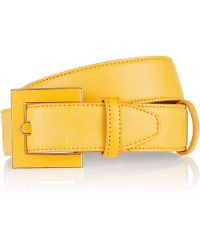 Oscar de la Renta Leather Waist Belt - Lyst