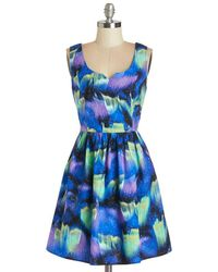 ModCloth Northern Bright Dress - Lyst