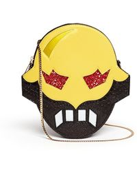 Stella McCartney 'Superstellaheroes' Mask Crossbody Clutch - Lyst