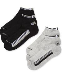 Calvin Klein  Racer Striped Sport Ped Socks 6 Pack - Lyst