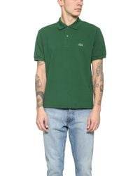 Lacoste Short Sleeve Classic Polo Shirt - Lyst