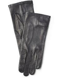 Ralph Lauren Hand-Stitched Nappa Gloves - Lyst