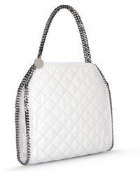 Stella McCartney Falabella Quilted Small Tote - Lyst