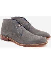 Ted Baker Suede Derby Chukka Boots - Lyst