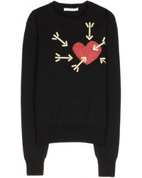 Carven Embellished Sweater - Lyst
